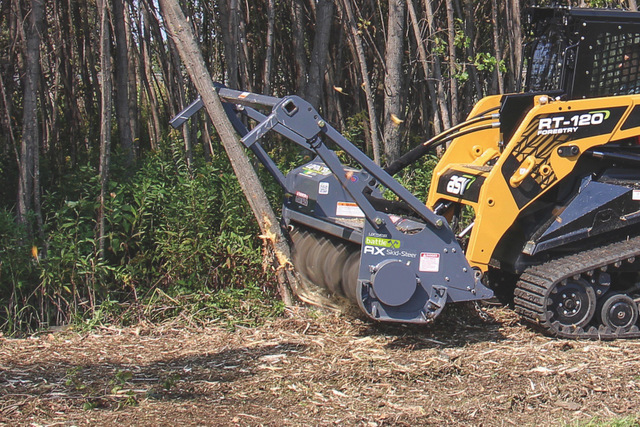 Loftness Battle Ax Skid Steer