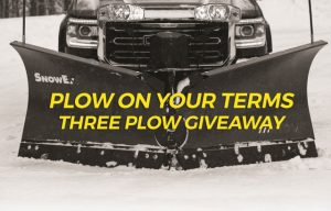 SnowEx Announces First Winner in 'Plow On Your Terms' Giveaway, Next Winner Announced Tomorrow (Sign Up Now!)