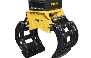Engcon Introduces New Mini Excavator Sorting Grabber