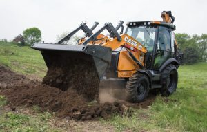 CASE Introduces New N Series Backhoe Loader Updates with PowerBoost, Direct Drive and Factory-Installed Thumb