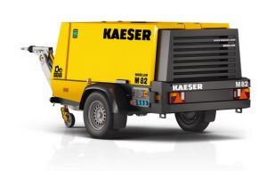 Kaeser's M82 Portable Compressor Provides 10 Hours of Continuous Operation