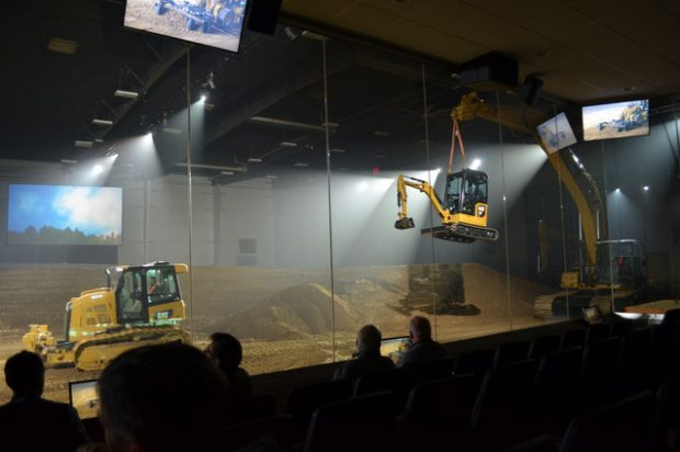 Photo Blog: Images from the Caterpillar Fall Press Event