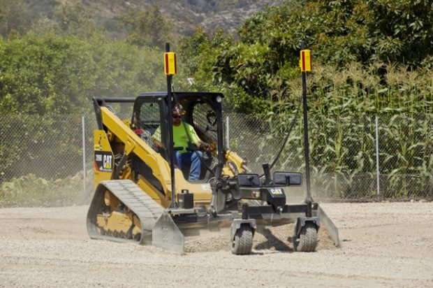 New Trimble Earthworks GO! Grade Control Platform for Compact Machine Grading Attachments