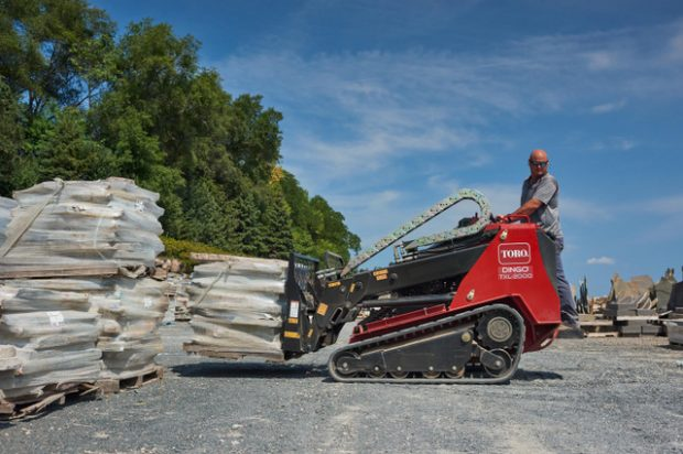 Toro Introduces Giant Dingo TXL 2000 with Telescoping Arms to Compete with Bigger Earthmovers
