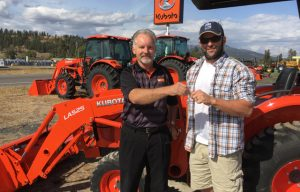 Five New Kubota Tractors Awarded to Farmer Veteran Coalition Members (Slow Clap)