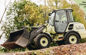 Innovative Iron Awards: Volvo CE's Electric LX2 Compact Wheel Loader and EX2 Mini Excavator