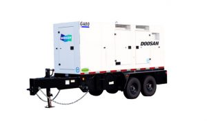 Doosan Portable Power Introduces the G400WCU-T4F Mobile Generator