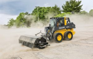 John Deere Makes Snow and Debris Cleanup Easy with New Angle and Pickup Brooms