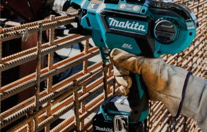 Makita Announces Cordless Rebar Tying Solution