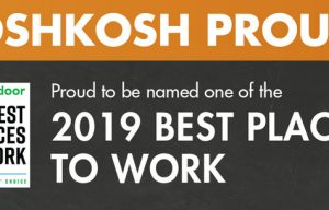 JLG Parent Company Oshkosh Honored by Glassdoor as One of the Best Places to Work for a Second Consecutive Year
