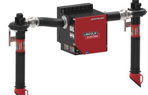 Lincoln Electric's New Statiflex 800 Wall-Mounted Welding Fume Extractor Offers Automatic Filter Cleaning and Lower Operating Costs