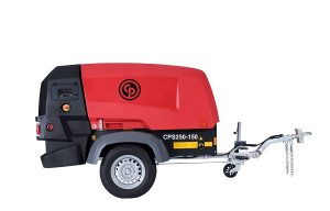 World of Concrete: Chicago Pneumatic Power Technique Launches CPS 250 Portable Compressor