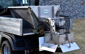 Curtis Industries Introduces Stainless Steel Salt Spreader for Utility Vehicles