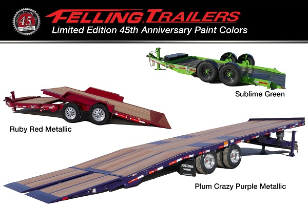 Felling Anniversary Paint Colors - Trailers