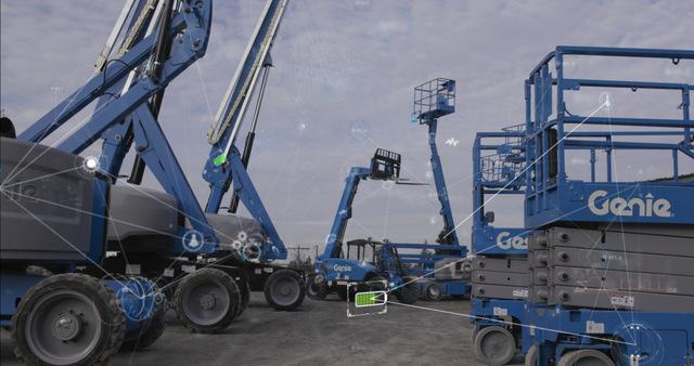 Genie Lift Connect rental aerial telematics