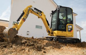 The Next Generation: Caterpillar's Revamped, Ultra-Premium Mini Excavator Line Highlights the Fall Media Event