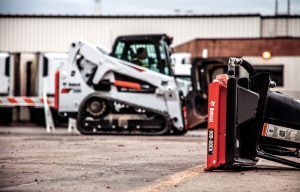 Bob-Dock: Bobcat's Stay-in-the-Cab Skid Steer/Track Loader Attachment System Is Most Impressive