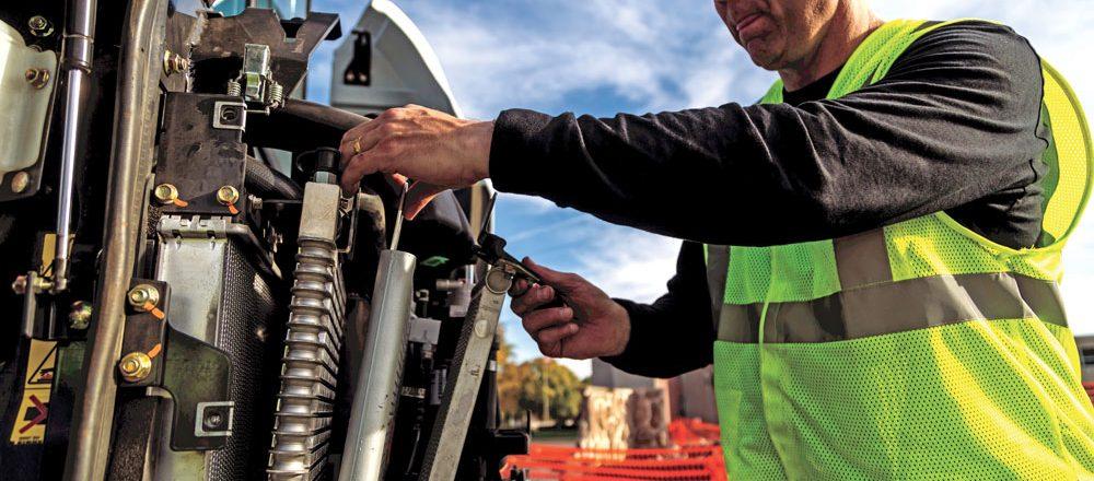 Bobcat excavator engine