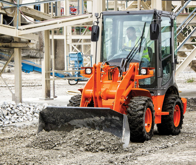 Hitachi ZW30 wheel loader