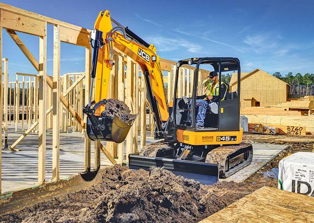 JCB 45 Z-1 excavator
