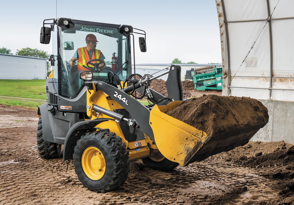 John Deere 244L wheel loader