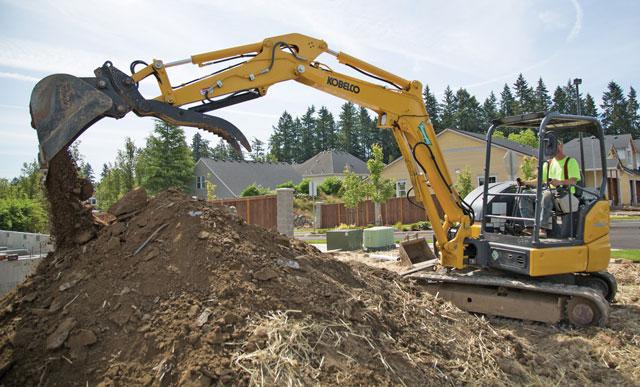 kobelco excavator