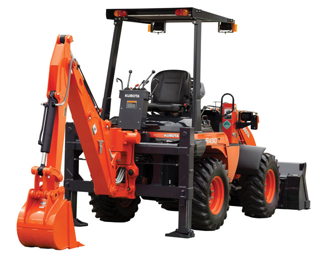 kubota R430 backhoe wheel loader