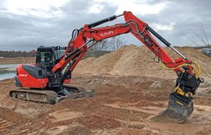 Assisted Digging: Grade and Machine Control Systems Can Be Equipped to Compact Excavators