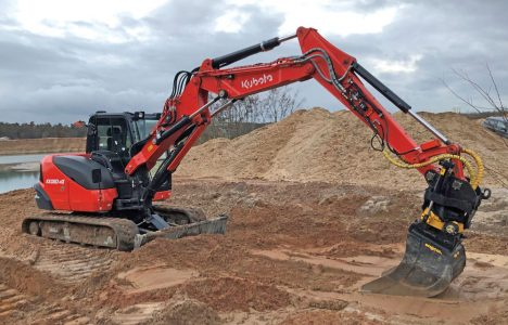 Assisted Digging: Grade and Machine Control Systems Can Be Equipped to Compact E...