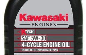 Kawasaki Adds New Engine Oils
