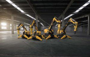 Brokk Introduces B300, Next Generation Demolition Robot