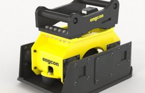 Engcon Launches New Low-Flow Compactor Series for Excavators