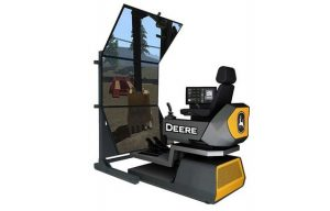 John Deere Introduces Next Generation of Construction Simulators