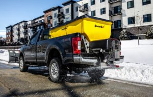 SnowEx HELIXX Poly Hopper Spreaders Introduce Advanced Material Delivery System