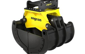Engcon Announces New Sorting Grapples