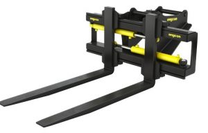 Engcon Introduces Lighter Pallet Forks