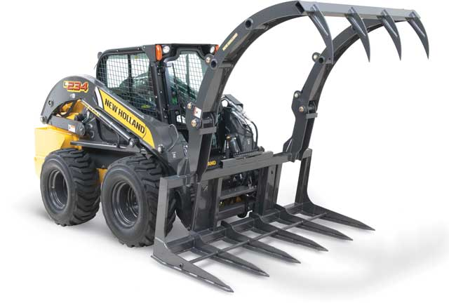 New Holland's large capacity farm grapples