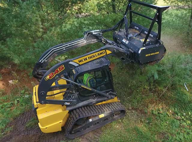 New Holland Mulching Head