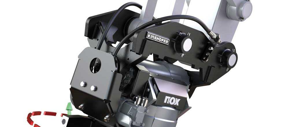 NOX Tiltrotator coupler