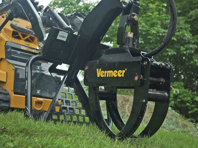 Vermeer ctc swivel log grapple