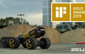 The Futuristic Construction Concept Vehicle Toy from Volvo CE and LEGO Wins a Design Award