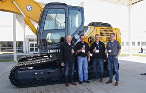 Southeastern Equipment Sells Kobelco's 1,000th Excavator