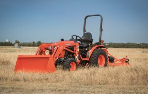 Kubota Introduces the B01 Series of Compact Tractors Focused on Flexibility and Ease-of-Use