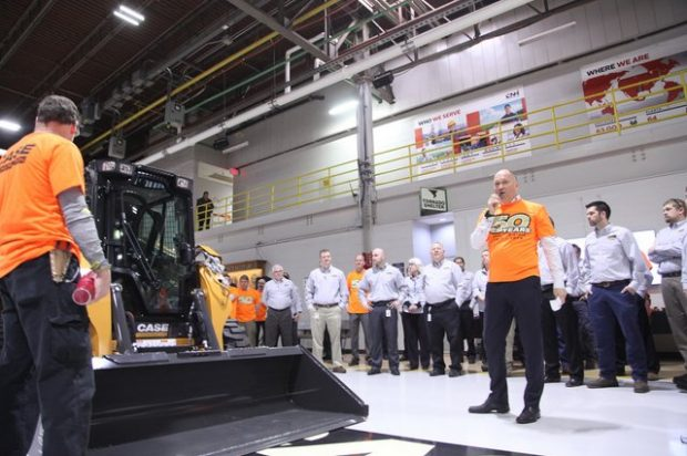 CASE Celebrates 50 Years of Skid Steer Manufacturing with a Ceremony in Wichita