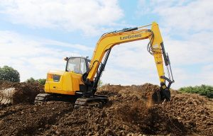 LiuGong Showcases New Compact Radius Excavator at bauma