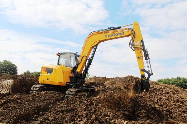 LiuGong 909ECR Compact Excavator