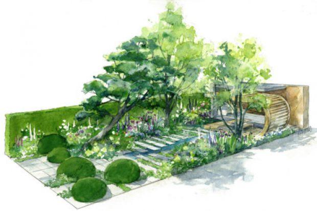 Volvo's Electric Excavator Helps Build the Morgan Stanley Garden in London