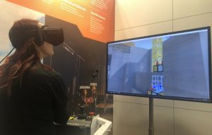 VR Experts Serious Labs Awards Smooth Operator Contest Winner at bauma 2019