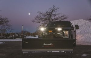 SnowEx STORM SEEKER LED Headlamps with EdgeView Technology Offer Superior Lighting for Snow Plows