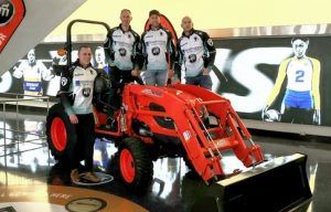 KIOTI Tractor Sponsors Olympic Curling Gold Medalists Team Jacobs